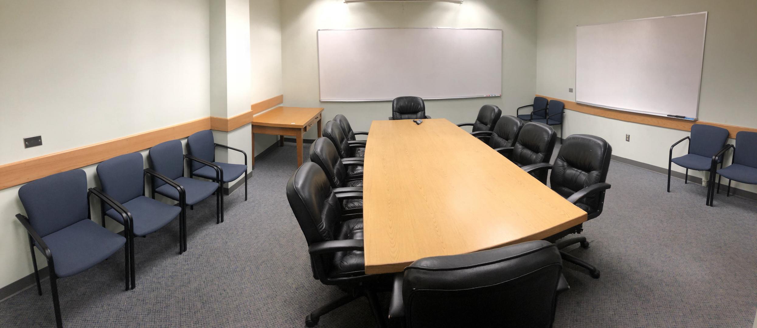 Koshland Hall 274 Conference Room Layout Photo