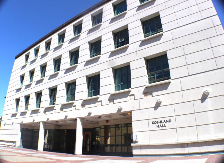 Koshland hall on the UC Berkeley campus