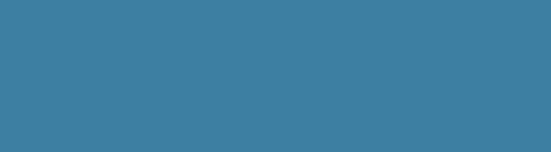 A plain blue bar of color
