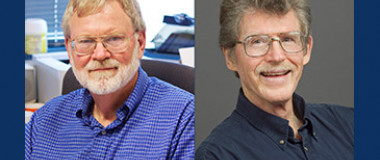 Steven Lindow and Peter Quail smiling in separate photos.