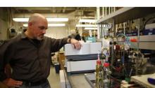 coates in lab