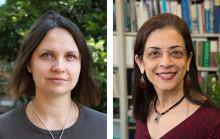 Headshots of Ksenia Krasileva and Sabeeha Merchant.