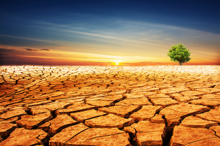 Climate change has brought on significant droughts in California and the Southwest.